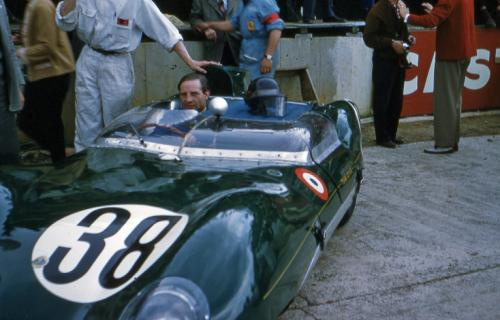 Innes Ireland at Le Mans 1958
