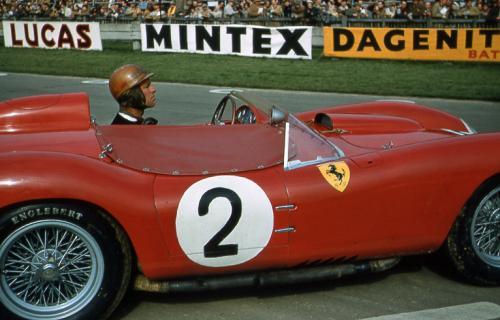 Peter Collins at Goodwood 1958